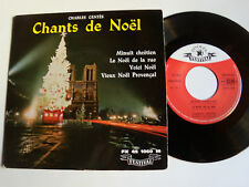 "CHARLES GENTES; Chants de Noel 7"" EP 45T 1960 FESTIVAL FX 1060  N.D. de PARIS"