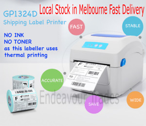 WIFI Gprinter GP-1324D High Speed Thermal Label Printer 4x6in 100x150mm AuSeller