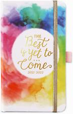 2021 July 2022 Pocket Daily Planner Calendar Organizer Refill Journal Notebook