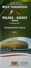 Fan info LS 6.9.2011 POLONIA POLSKA-Germania