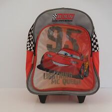 Sac à dos à roulettes DISNEY LIGHTNING MC QUEEN RSN RACING SPORTS NETWORK
