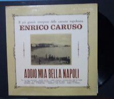 LP - CARUSO - ADDIO MIA BELLA NAPOLI