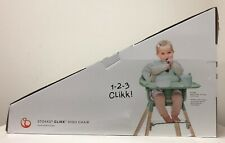 Stokke Clikk Lightweight & Travel-Friendly High Chair w/ Tray & 5-Point Harness