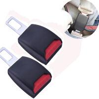 2pcs Universal Car Seat Seatbelt Safety Belt Extender Extension Buckle
