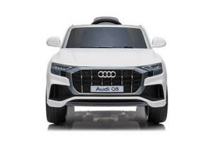 Licenced Audi Q8 kids 12v Electric Operated Ride on car in white