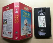 STANLEY THE UGLY DUCKLING - TV TEDDY - VHS VIDEO