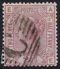 British Levant 1876 SG141 2 1/2d Rosy Mauve Pl 13 AE Fine Used in Constantinople