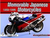 Memorable Japanese Motorcycles. 1959-1996 by Mitchel, Doug (Hardback book, 1997)