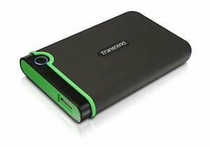 "Transcend 2.5"" USB 3.0 Military-Grade Shock Resistance Portable HDD"