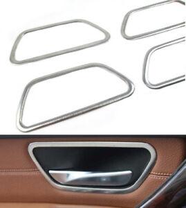 Edelstahl Blende Rahmen Set für Türöffner Innen für BMW 3er F30 F31 F34 F35 F80
