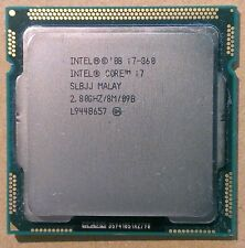 Intel Core i7 860 Lynnfield Quad-Core 4x 2.8GHz (3.46GHz Turbo) 1156 95W SLBJJ