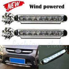 Wind Power 8 LED Car Daytime Running Light Fog Light Car DRL Driving Light White
