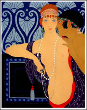 George Barbier Bilitis Canvas Print 16 x 20       #2765