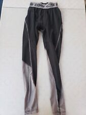 Champion DuoDry Power Core Black Game Tights, Size Mens Small