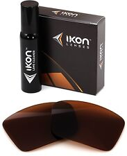 Polarized IKON Replacement Lenses For Oakley Oil Drum Sunglasses Bronze/Brown