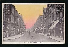 Wales Glamorgan Glam BARRY DOCK Holton Rd c1900s PPC creasing