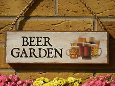 PERSONALISED GARDEN SIGN REAL ALES PINT SIGN BEER GLASSES LAGER GLASSES OWN NAME
