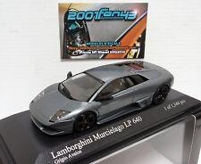 LAMBORGHINI MURCIELAGO LP 640 2006 GRIS GREY AVALON 1/43 MINICHAMPS