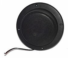 """Home RV 2 1/2"""" Black Satellite Speaker for Theater Systems Ceiling Wall RSM-25H"""