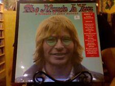 The Music is You: A Tribute to John Denver 2xLP sealed vinyl + download MMJ OCMS
