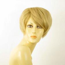 perruque femme 100% cheveux naturel courte blonde ref AUDREY 22