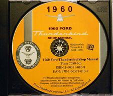 1960 Ford Thunderbird Shop Manual (CD-ROM)