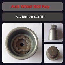 "Genuine Audi Locking Wheel Bolt / Nut Key 802 ""B"" 17 Hex"