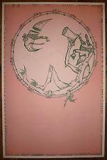 Joan Ponc lithographie 1971 signée art abstrait Museo Reina Sofía de Madrid