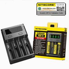 2016 NITECORE New i4 smart battery charger IMR/Li-ion/Ni-MH/Ni-Cd 18650/16340