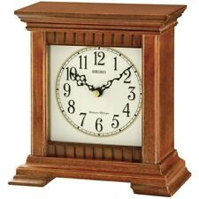 Wooden Modern Desk, Mantel & Carriage Clocks