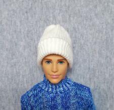 "Handmade doll royal blue beanie hat for 12/"" Ken dolls"