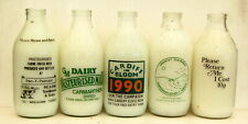 milk bottle s WALES: 5 different lovely : dairy # 2