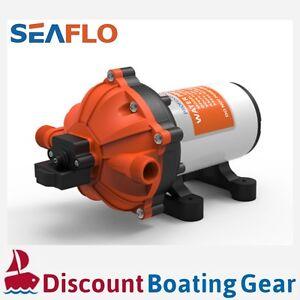 18.9L/M Diaphragm Water Pressure Pump SEAFLO Series 51 60PSI   RV Marine Galley