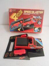 Mattel 4 On the Floor Speed Blaster Datsun Pick-Up Playset Boxed 1982
