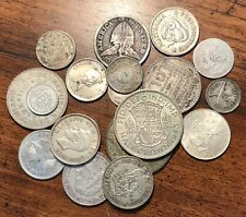 100+ Grams Silver 19 World 🌎 Coin Collection: Great Britain,Australia, Japan