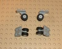LEGO PART 2415C01 PLATE MODIFIED 2 X 2 THIN WITH PLANE SINGLE WHEEL HOLDER X3 PC