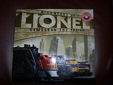 A CENTURY OF LIONEL TIMELESS TOY TRAINS by Dan Ponzol - 2000 - HC - EUC!