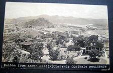 PANAMA   1916 BALBOA FROM ANDON  HILL (X) GOVERNOR  GOETHALS  RESIDENCE