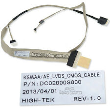 "TOSHIBA Satellite L500, L500D NEW LCD Cable for 15.6"" Screen p/n: DC02000S800"