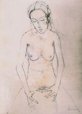 Zeitgenössische künstlerische Malerei mit Akt- & Erotik-Motiv