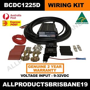 BCDC1225D Redarc BCDC Charger and Wiring Kit - Package deal save $$ Express Ship