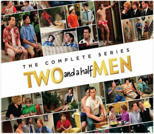 TWO AND A HALF MEN THE COMPLETE SERIES SEASONS 1-12 DVD (39 DISC ) NEW