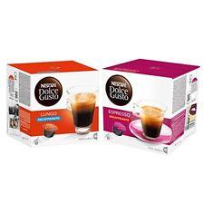 Nescafé Dolce Gusto Capsules Decaffeinato-Set, Caffé Lungo and Espresso
