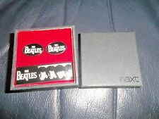 "THE BEATLES ""NEXT!"" CUFFLINKS OFFICIAL APPLE CORPS NICE PRESENTATION BOX FAB!"
