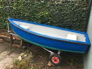 DINGHY 10 FT 6inch   FISHING /TENDER / DAY BOAT / ROWING BOAT