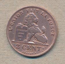 België/Belgique 2 ct. Leopold II 1909 Fr Morin 217 (1122260)