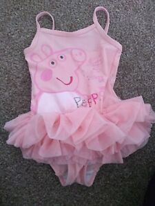 Pink Peppa Pig Swimming Costume Next 1,5-2 years old
