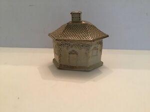 Antique Brampton Salt Glazed Stoneware Butter Dish c1840