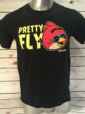 Angry Birds Pretty Fly Blue Sunglasses Cool Shades Skyscraper Reflection TShirt