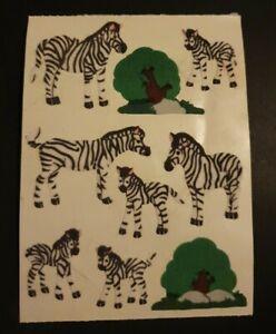 Sandylion Sticker Zebras Maxi Stoff